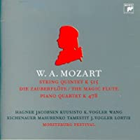 Quartet K.478 Quintet K.515/the Magic Fl