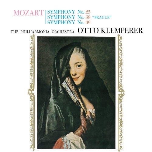 モーツァルト:交響曲第25番、第38番「プラハ」、第39番