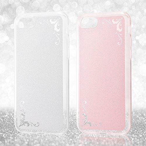 レイ・アウト iPhone7ケース TPUソフトケース ジュエラ/ピンク  RT-P12C6/P