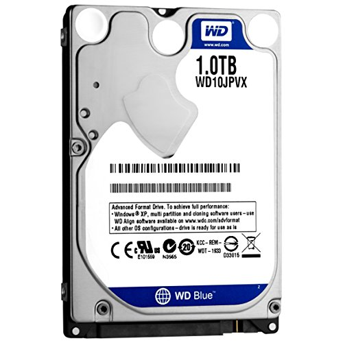 WD HDD 内蔵ハードディスク 2.5インチ 1TB WD Blue WD10JPVX SATA3.0 5400rpm 8MB 9.5mm 2年保証 PS4動作検証済み -