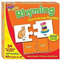 トレンド 英単語 パズル 韻を踏んでいることば Trend Fun to Know Puzzles Rhyming T-36009