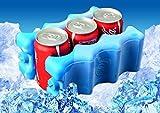 ネクシード(nexeed) 2個 セット 缶 ぴったり サイズ 保冷材 6本 まとめて キンキン に冷やします。
