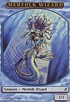 Magic: the Gathering - Merfolk Wizard Token - Lorwyn