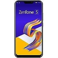 ASUS ZenFone 5 【日本正規代理店品】 6.2インチ / SIMフリースマートフォン/シャイニーブラック (6GB/64GB/3,300mAh) ZE620KL-BK64S6/A
