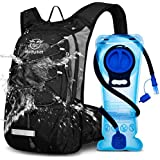 Mothybot Hydration Pack, Insulated Hydration Backpack with 2L BPA Free Water Bladder and Storage, Hiking Backpack for Men, Wo