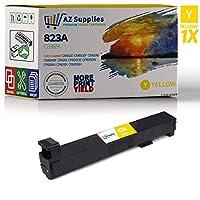 AZ Supplies 互換トナーカートリッジ HP 823A (CB382A) 交換用 イエロー 1個