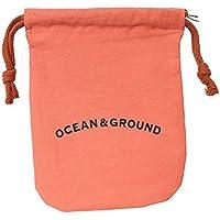 (オーシャンアンドグラウンド)Ocean&Ground コットン巾着小 O&G