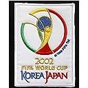 2002日韓ワールドカップアイロンワッペン KOREA JAPAN FIFA WORLD CUP W杯ユニフォーム用ワッペンサッカー日本代表記念品(2002年 1枚)