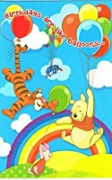 Disney Winnie the Pooh誕生日はLikeバルーン。。。誕生日カード