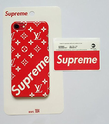 人気 Supreme シュプリーム iphoneケース 携帯カバー 3色 個性 おしゃれ スマホケース (7/8, レッド)