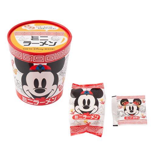 ミッキーマウス ミニーマウス ミニラーメン インスタント麺 お菓子 お土産 【東京ディズニーリゾート限定】
