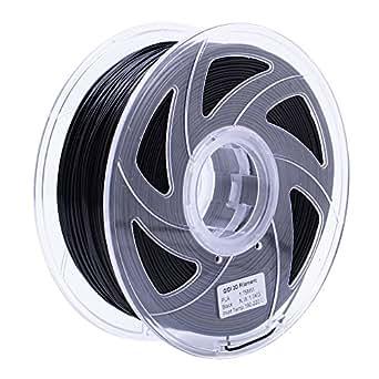 Qidiテクノロジー黒色PLA 3Dプリンターフィラメント