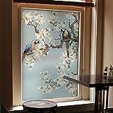 Bathroom Privacy Window Film Glass Sticker, Glass Window Film Sliding Door Bathroom Static Cling Stickers Home Decor W23.6 x