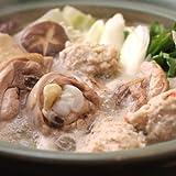 水郷どり 水炊き とり鍋セット 野菜付き (約4?5人前) 【冷蔵限定 冷凍商品と同梱不可】