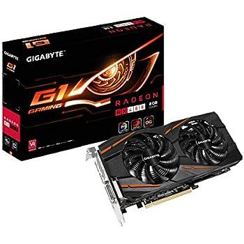 GIGABYTE ビデオカード AMD RADEON RX480搭載 GV-RX480G1 GAMING-8GD