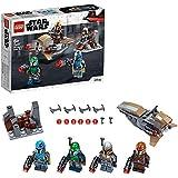LEGO Star Wars Mandalorian Battle Pack 75267 Mandalorian Shock Troopers and Speeder Bike Building Kit; Great Gift Idea for Any Fan of Star Wars: The Mandalorian TV Series