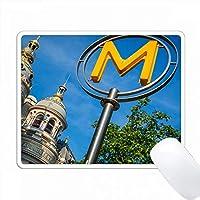 Havre-Caumartin Metro、パリ、フランス。 PC Mouse Pad パソコン マウスパッド