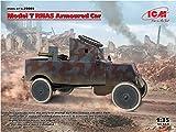 ICM 1/35 イギリス海軍 T型フォード RNAS 装甲車 プラモデル 35669