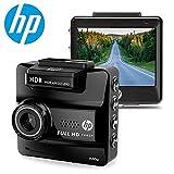 HP f550 GPS搭載・高画質FULL HD 1440Pドライブレコーダー/ WDR+Gセンサー、動体感知、臨時駐車監視モード、日本語メニュー。〔並行輸入品〕