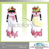 eidolon ファイナルファンタジーXIV Final Fantasy XIV FF14 ララファエルスプリングドレス コスプレ衣装 cosplay コスチューム コス 仮装 変装 (男性M)