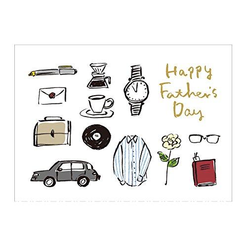 サンリオ 父の日カード 二つ折り お父さんと小物 S3601...