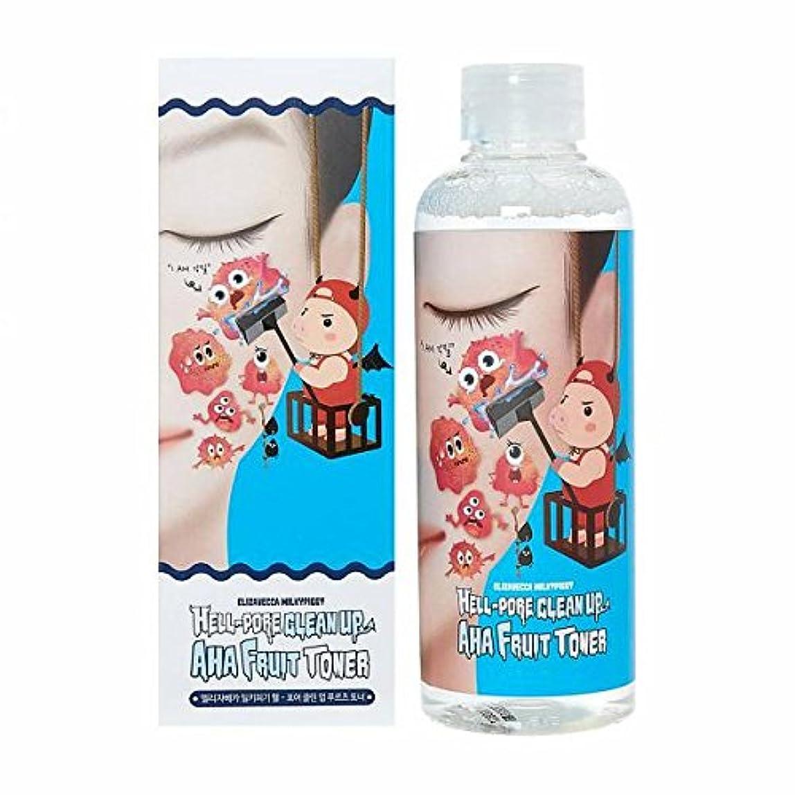 被る広いチャーミング(3 Pack) ELIZAVECCA Hell-Pore Clean Up AHA Fruit Toner (並行輸入品)