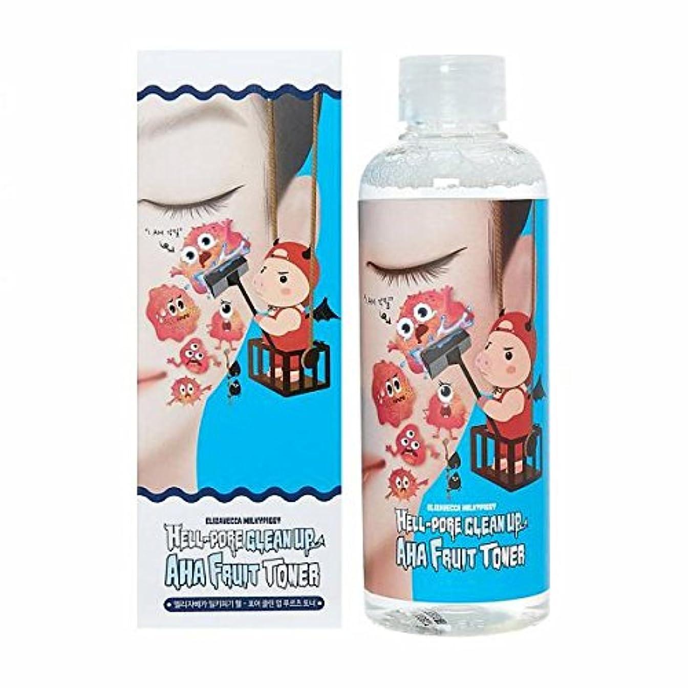 なんでも侵入圧縮する(3 Pack) ELIZAVECCA Hell-Pore Clean Up AHA Fruit Toner (並行輸入品)