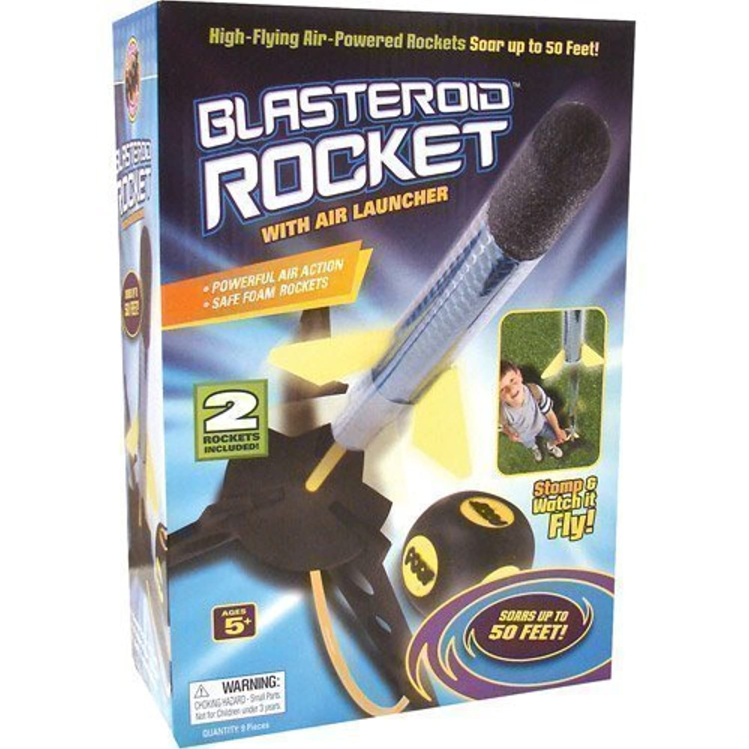 POOF Blasteroid Rocket with Launcher by Unknown