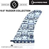 """(シェイパーズ フィン) SHAPERS FIN【10.5"""" RUDDER COLLECTION】ロングボード シングル フィン"""