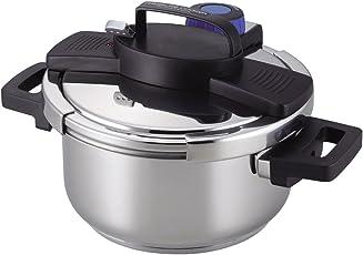 パール金属 3層底ワンタッチレバー圧力鍋