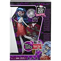 Monster High Dawn of the Dance Ghoulia Yelps人形in Exclusiveパープルボックスwith DVD