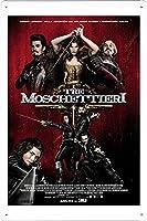 映画の金属看板 ティンサイン ポスター / Tin Sign Metal Poster of Movie The Three Musketeers #31