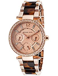 マイケルコース 腕時計 レディース MK5841 べっこう柄×ピンクゴールド[海外並行輸入品]