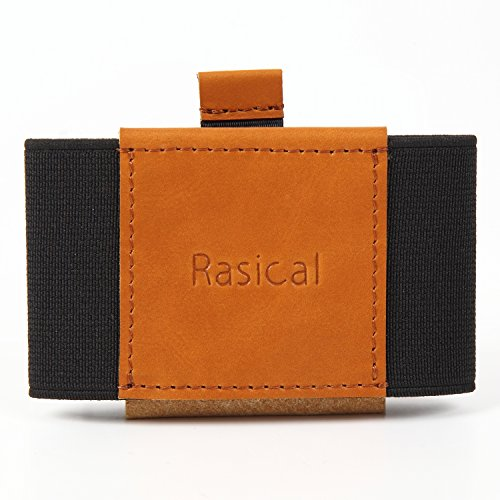 Rasical(ラシカル) 減らす財布 テイルウォレット カードケース マネークリップ 名刺入れ ミニウォレット ミニマムデザイン 本革 二つ折り 小型で大容量 薄型 スリム キー 鍵 紙幣 小さい財布