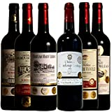 全てトリプル金賞 ボルドーワイン6本セット ソムリエ厳選 赤ワイン 750ml×6
