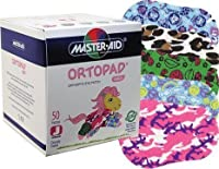 Ortopad Girls Eye Patches - Junior Size (50 Per Box)