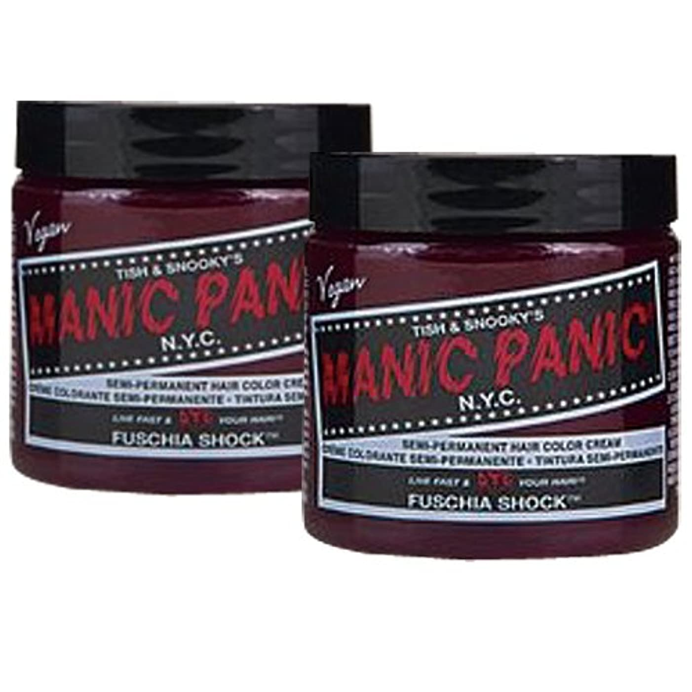 また明日ね触手つかいます【2個セット】MANIC PANIC マニックパニック Fuschia Shock フューシャショック 118m