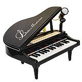 Best 子供のための電子玩具 - キッズピアノ、aPerfectLife 多機能 31キー電子オルガン音楽キーボードピアノオルガンミュージカルティーチングキーキーボードおもちゃ子供用子供ギフト (ブラック) Review