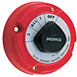 Perko 8501Dp Marine Battery Selector Switch