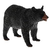 Baoblaze リアル 動物モデル フィギュアおもちゃ フィギュア 模型 ホーム デコレーション 全20スタイル - 歩くクマ