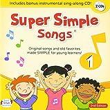 スーパー シンプル ソングス CD 1 【子ども英語】  Super Simple Songs CD 1 (2nd Edition・第2版)