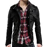 メンズ ライダース ウィンドブレーカー ジャケット カーゴ ミリタリー 長袖 ジャケット大きいサイズ