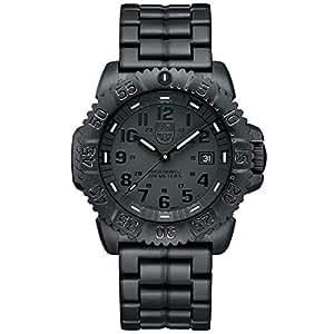 [ルミノックス]LUMINOX 腕時計 メンズ ネイビーシールズ NAVY SEALS COLORMARK 3050 SERIES ブラックアウト 3052Blackout [正規輸入品]