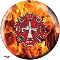 Fire DepartmentイエローFireボーリングボール