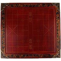 Fityle ポータブル 中国チェス チェス盤 チェスピース 家族 友人 ギフト