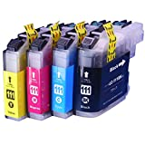 インクのチップスオリジナル製品 ブラザー用 LC111 互換インク 4色セット ブラック、シアン、マゼンタ、イエロー フラストレーションフリーパッケージ FFP