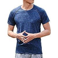 [キャプテン・ケイ] メンズ ドライフィット スポーツシャツ トレーニング Tシャツ 吸汗 速乾 ドライ 半袖