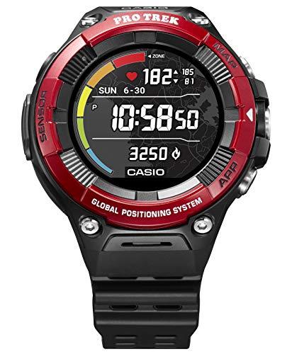 [カシオ] 腕時計 スマートアウトドアウォッチ プロトレックスマート 心拍計測機能 GPS搭載 WSD-F21HR-RD メンズ