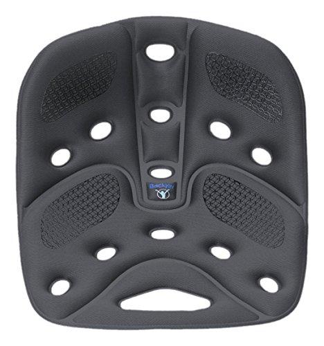 BackJoy(バックジョイ) 骨盤サポートシート リリーフ グリップ レギュラーサイズ グレー 【正規品】