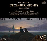 December Nights [Sviatoslav Richter, Anatoly Kamyshev] [Melodiya: MELCD 1002204] by Sviatoslav Richter